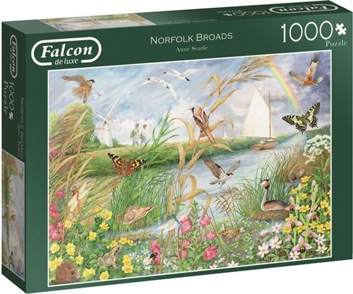 Jumbo puzzel Falcon Norfolk Broads - 1000 stukjes