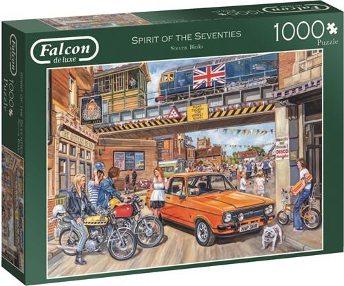 Jumbo puzzel Falcon Spirit of the Seventies - 1000 stukjes