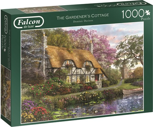 Jumbo puzzel Falcon The Gardener's Cottage - 1000 stukjes
