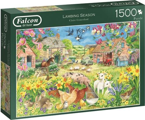 Jumbo puzzel Falcon Lambing Season - 1500 stukjes