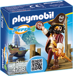 Playmobil Super 4 - Haaibaard  4798