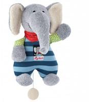 sigikid muziekknuffel olifant Lolo Lombardo 48800