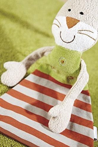 sigikid Green knuffeldoekje konijn 48921-3