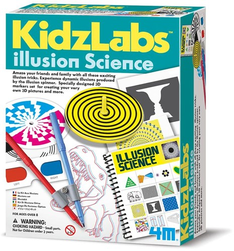 4M wetenschapsdoos Illusion science 8+-1