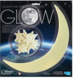 4M Glow in the Dark - Maan en 12 sterren
