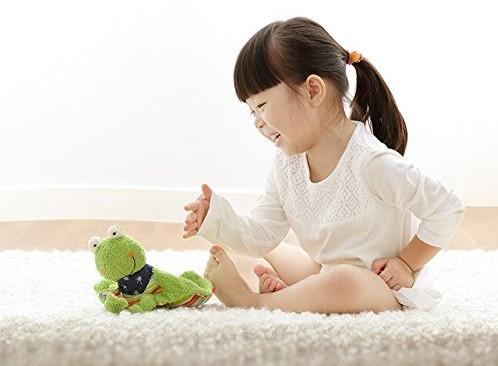sigikid knuffeldoekje kikker Fortis Frog 48934-2