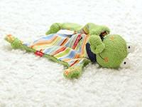 sigikid knuffeldoekje kikker Fortis Frog 48934-3