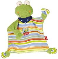 sigikid knuffeldoekje kikker Fortis Frog 48934