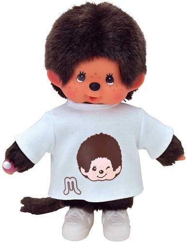 Monchichi Knuffelpop Kleren Fashion T-Shirt Met Gezicht Incl Sneakers
