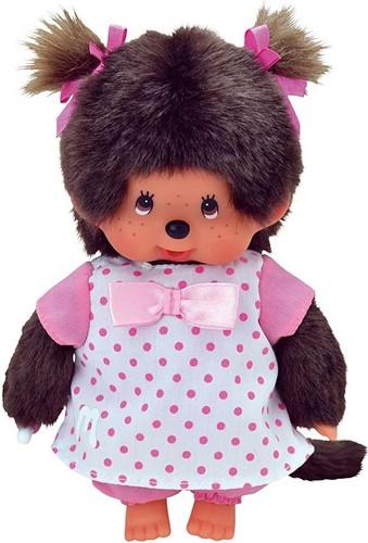 Monchhichi knuffelpop kleren Roze Nachtjapon