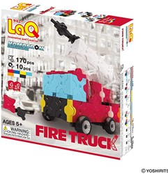 LaQ-Hamacron Constructor Power-Fire Truck