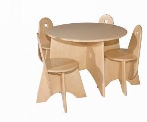 Van Dijk Ronde tafel doorsn. 75 cm, hoog 54 cm