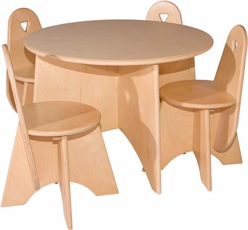 Van Dijk Ronde tafel doorsn. 60 cm hoog 40