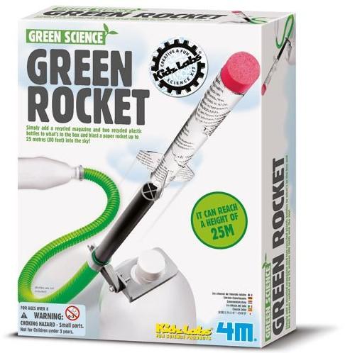 4M  Green Science wetenschapsdoos Green rocket