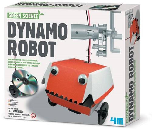 4M  Green Science wetenschapsdoos Dynamo robot-1