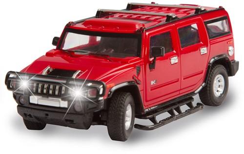 HQ Hummer H2 - rood
