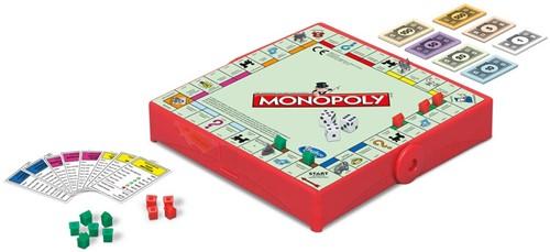 Hasbro - Reisspel - Monopoly reisspel