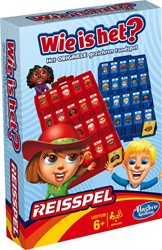 Hasbro  reisspel Wie is het?