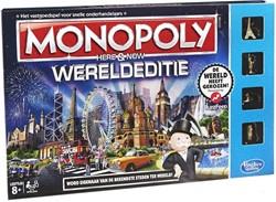 Hasbro  bordspel Monopoly Wereldeditie
