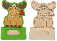 Beleduc  houten knutselspullen kerstlicht eland-1