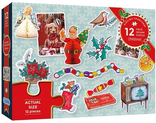 Gibsons puzzel Christmas - 12 stukjes