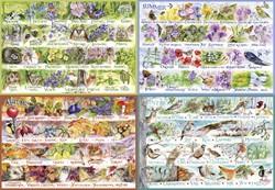 Gibsons puzzel Woodland Seasons - 2000 stukjes