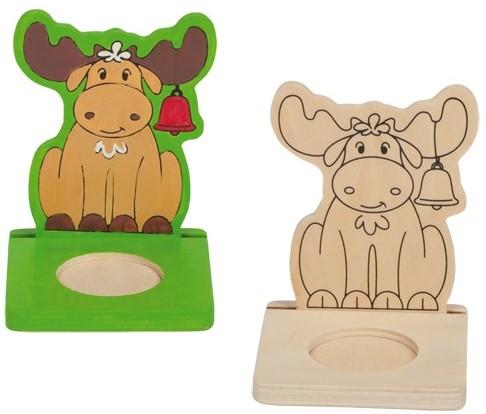 Beleduc  houten knutselspullen kerstlicht eland-2