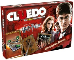 Winning  Moves - Familiespellen - Cluedo: Harry Potter editie