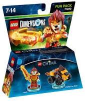 Lego  Dimensions Chima Laval 71222