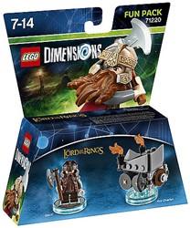 Lego  Dimensions LOTR Gimli 71220