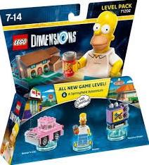 Lego  Dimensions Simpsons 71202