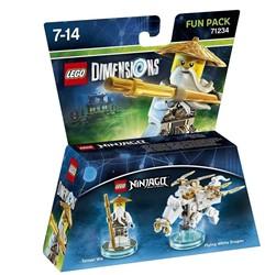 Lego  Dimensions Ninjago Sensei Wu 71234