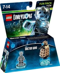 Lego  Dimensions Doctor Who Cyberman 71238