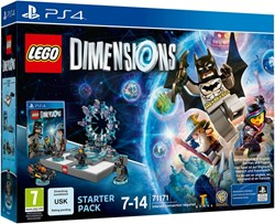 Lego  Dimensions Starter Pack: PS4