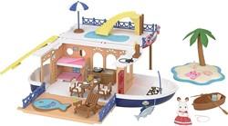 Sylvanian Families Zeecruiser Woonboot 5206