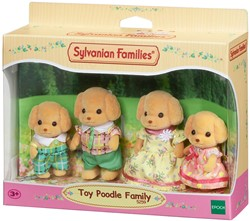 Sylvanian Families - Families - Poodle Family
