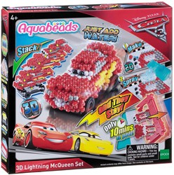 Aquabeads Cars 3 3D Lightning McQueen speelset