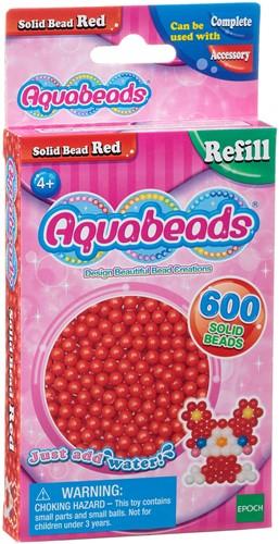 Aquabeads rode parels