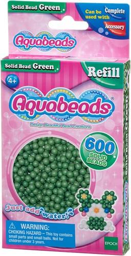 Aquabeads groene parels