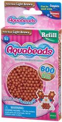 Aquabeads Lichtbruine Parels