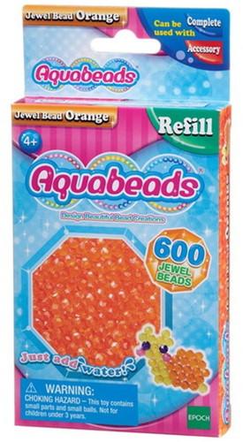 Aquabeads oranje juweelparels