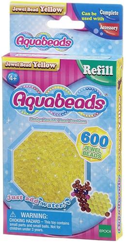 Aquabeads gele juweelparels