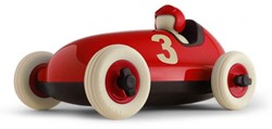Playforever  speelvoertuig Bruno Racing Car Red