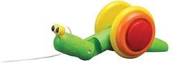 Plan Toys houten trekfiguur Pull-along Slak