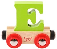 BigJigs Rail Name Letter E , BIGJIGS, LETTERTREIN E-3