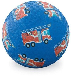 Crocodile Creek  buitenspeelgoed 10 cm Play Ball/Fire Engine