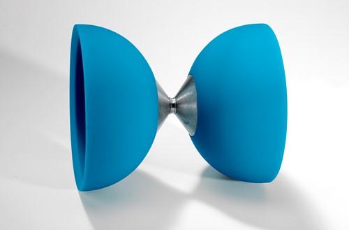 Acrobat 105 Rubber Diabolo Light Blue