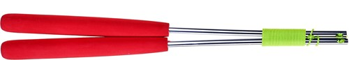 Acrobat - Aluminum hand sticks 32,5 cm /red handles