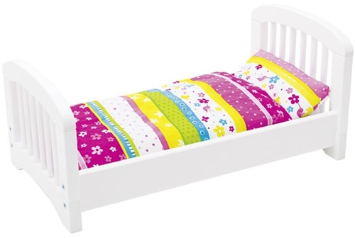 Goki Doll's bed with bedding, Susibelle