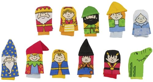 Goki Finger puppets, Kasper
